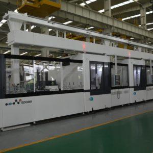 Горизонтальная обрабатывающая гибкая автоматизированная линия DZHX–001