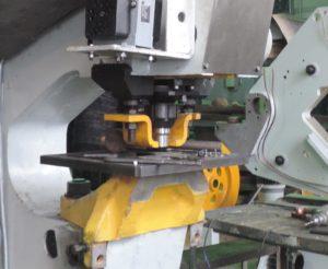 Пресс для пробивки отверстий КБ1932 (усилие 1600 кН)