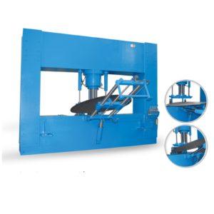 Гидравлический пресс для штамповки днищ серии HDEP