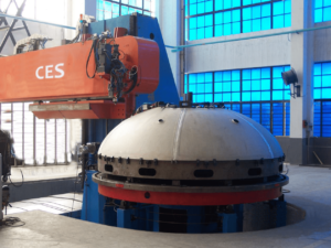Оборудование для сварки сферических форм